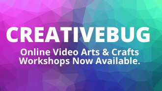 Creativebug is online video arts & crafts workshop