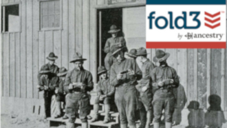 Geneaology Program - Fold3 and Military Records is Tuesday, February 25 at 6 PM