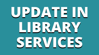 Here is our update to Library Services.