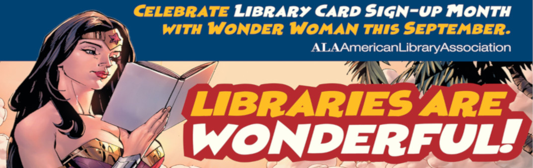 Sign up for a Library card here!
